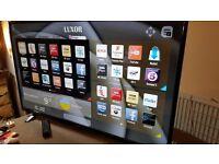LUXOR 55-Inch SMART 4K ULTRA HD LED TV, Built-in Wifi,Freeview HD,Netflix, FULLY WORKING