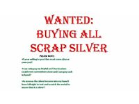 WANTED: Buying all scrap silver please read description