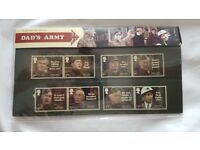 Royal mail mint stamps dads army presentation set