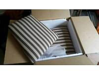2 sets of 6 oak furniture seat covers