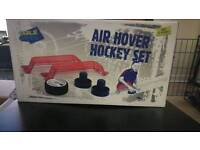 Air hover hockey set