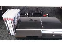PS3 console & games (Boxed)