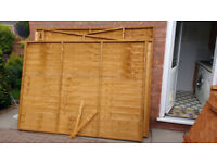 Pent Garden Shed 8x6 (Nearly New)