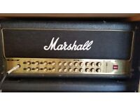 Marshall amp AVT150H Valvestate 2000 + 6 switch official pedal - Head only