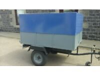 car/camping/box van trailer in very good condition 5x4