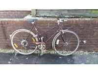 Ladies Vintage Style Raleigh Town Bike