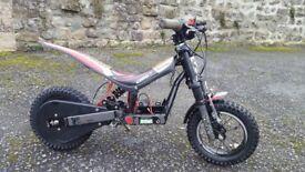Childrens Oset 12.5 Electric Trials bike.