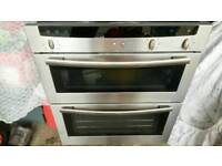 Cooker Neff integrated double oven cooker