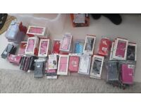 mobile phone covers job lot Samsung S4 S5 Nokia, HTC ..over 30 cases new old stock