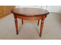 Round wood veneer Coffee / Occasional Table