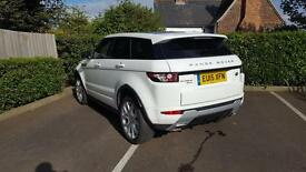 Land Rover Range Rover Evoque SD4 DYNAMIC (white) 2015-03-10