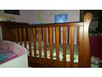 Baby 3in1 cot, small bed and little sofa