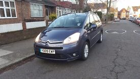 CITROEN C4 GRAND PICASSO 2009 VTR+ HDI 1.6 MANUAL 77000 7 SEATS START AND DRIVE PERFECT