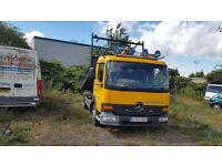 Mercedes Atego tipper