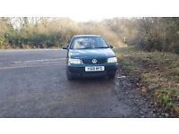 2001 VW Polo runs perfect, very low mileage