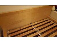 King-size bed frame