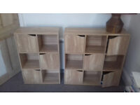 2x storage units. Very good condition