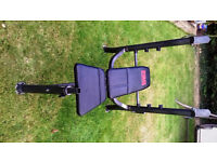 Pro Power weight bench - good Condition - excellent adjustable