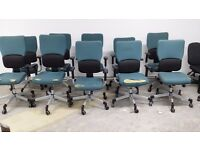 BULK QUANTITY 10 X STEELCASE STRAFOR LETS B OFFICE TYPISTS CHAIRS