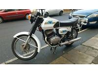 CZ JAWA 125 HISTORIC MOTORCYCLE 1972