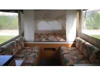 Pennine Pullman 535 SE folding camper, very good condition, hardly used and loads of extras included