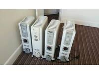 Delonghi dragon oil filled heaters with timers can deliver