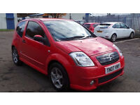 2007 07 CITREON FURIO 1.1 MOT 07/17 RED ( PART EX WELCOME)
