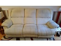 Three seat recliner sofa and recliner arm chair - FREE!!!