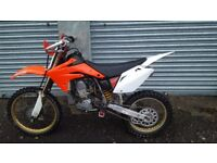 CRF 150 BIG WHEEL 2009 not KX YZ KTM RM 85 125