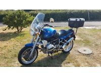 BMW R1100R Very good condition, low mileage, top box and touring screen.
