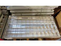 Suspended ceiling Fluorescent light panels Office/shop/garage/workshop/utility