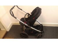 Phil&teds, pushchair, foot muffs - infant carseat & base -