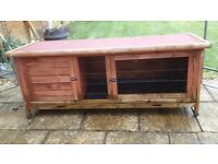 Rabbit/Guinea pig hutch, good condition