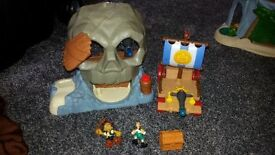 REDUCED Jake and the Neverland Pirates Play sets