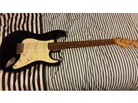 Westfield Electric guitar with an Jim Harley amplifier