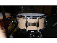 albermore custom snare drum