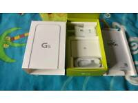 LG G5 box with accessories no phone only box and accessories