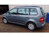 2004 Volkswagen Touran 1.9 TDI Diesel. Bargain Trade in diesel estate size of passat mondeo zafira