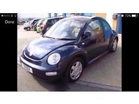 2001 Vw new beetle manual gearbox 86000 miles great condition