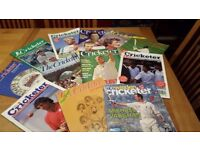 CRICKET MAGAZINES – COMPLETE SET OF 22 YEARS - Almost 300 magazines from 1985 to 2006 plus others