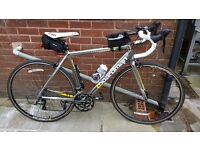 Boardman Road Comp Bike with loads of accessories and upgraded tyres