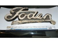 vintage foden lorry badge