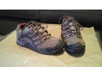 Peter Storm waterproof walking shoes size 4