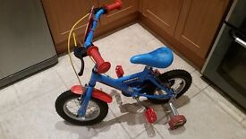 Bike Thomas tank 12 inch wheel bike hardly used