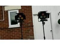 NJD spectre stage lights