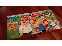 Family Guy Monopoly Board Game