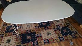White Next Dining Table only £30