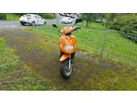 TGB 50 CC SCOOTER LOW MILES V5 ALL WORKING ORDER