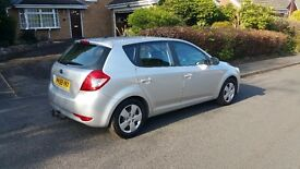 Kia Ceed 1.4 low mileage good condition silver