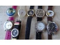 Bundle of mixed watches to swap for pne mans watch to downsize collection.